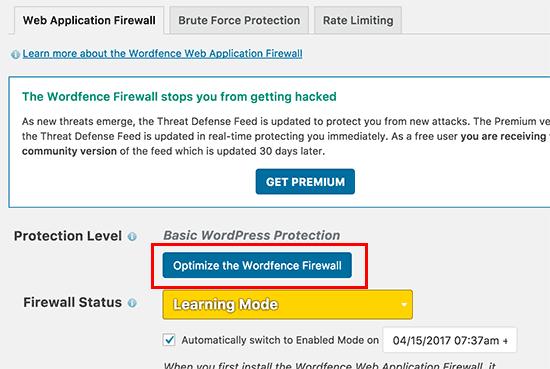 optimizefirewall