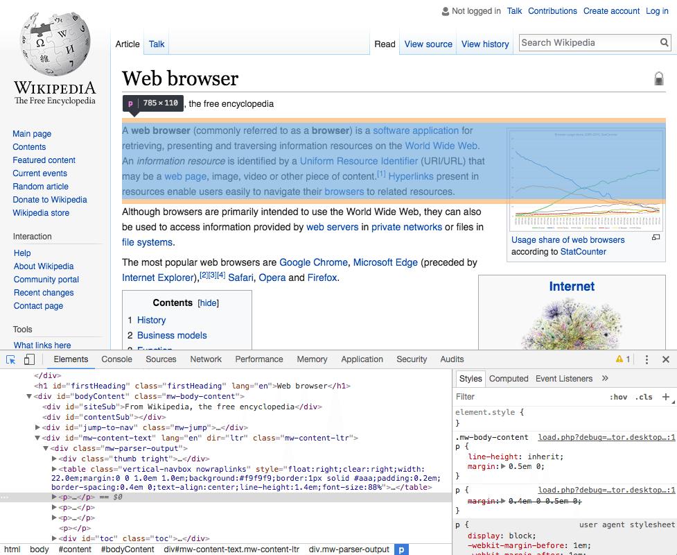 ویرایش کدهای HTML، Css و php به صورت مستقیم در مرورگر