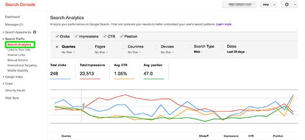 آموزش کار با کنسول جستجو گوگل