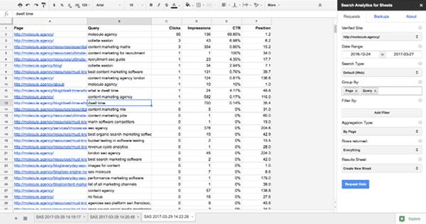 آنالیز بهتر اطلاعات کنسول جستجو گوگل
