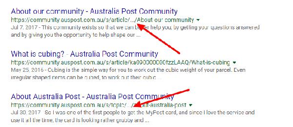 آشنایی با ساختار لیست نتایج گوگل