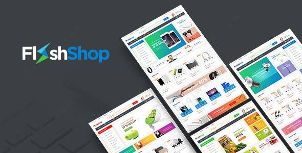 قالب ووکامرس فروشگاهی flashshop
