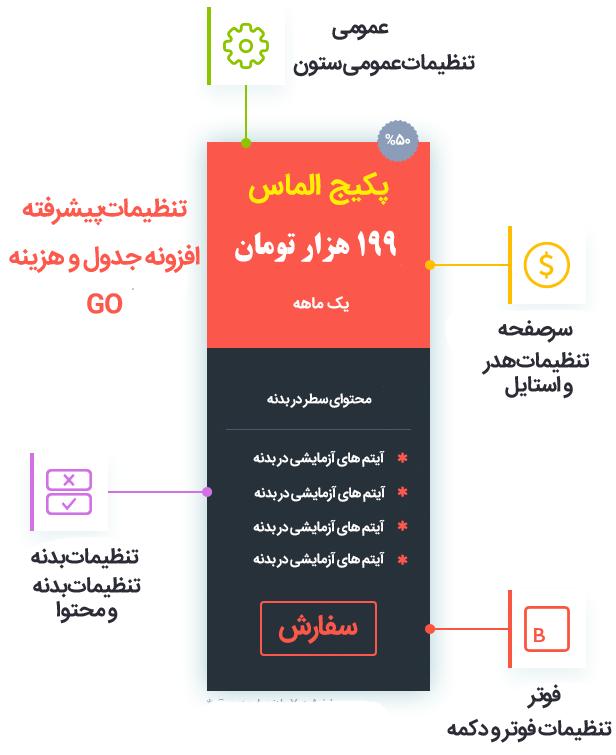 افزونه جدول قیمت وردپرس حرفه ای فارسی