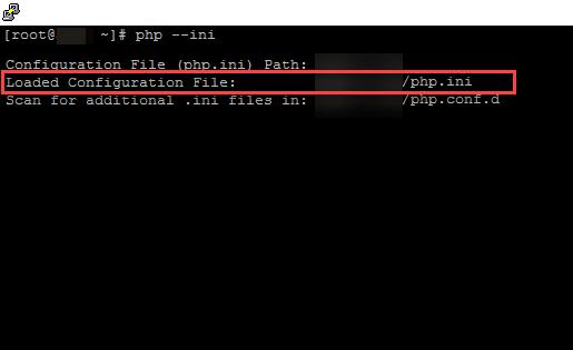 نمایش فایل php.ini