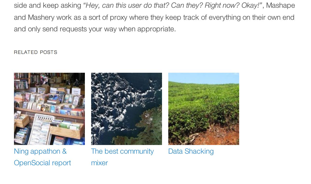 افزونه Related Posts for WordPress