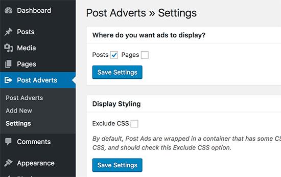 افزودن تبلیغ در پست ها با افزونه Insert Post Ads