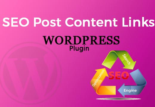 ایجاد لینک داخلی با افزونه SEO Post Content Links