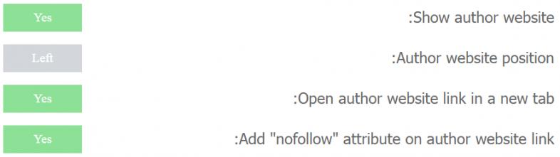 افزونه نمایش اطلاعات نویسنده در وردپرس