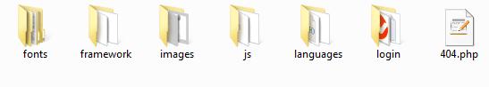 سفارشی سازی صفحه ورود با کد
