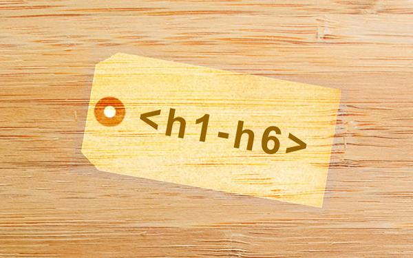 استفاده اصولی از عناصر h1 تا h6 در سال 2018